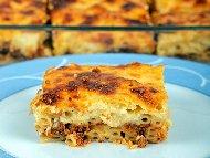 Рецепта Пастицио от макарони с телешка кайма и сирене пармезан